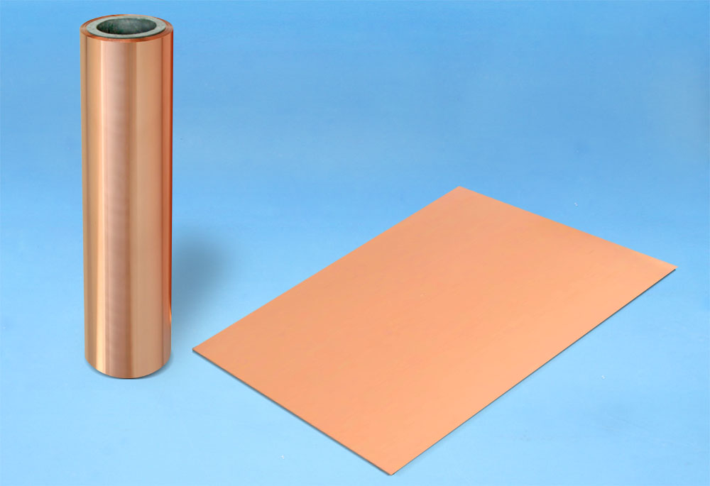 卷状电子薄膜复合新材料