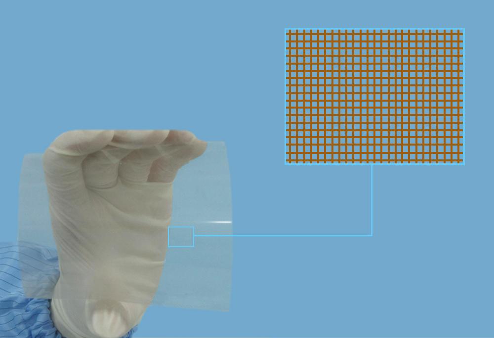 透明导电金属薄膜材料