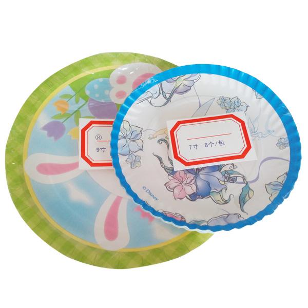 多色印刷蛋糕纸碟